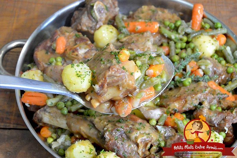 Quelle cuisson pour le navarin d'agneau