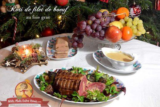 Rôti de filet de boeuf au foie gras
