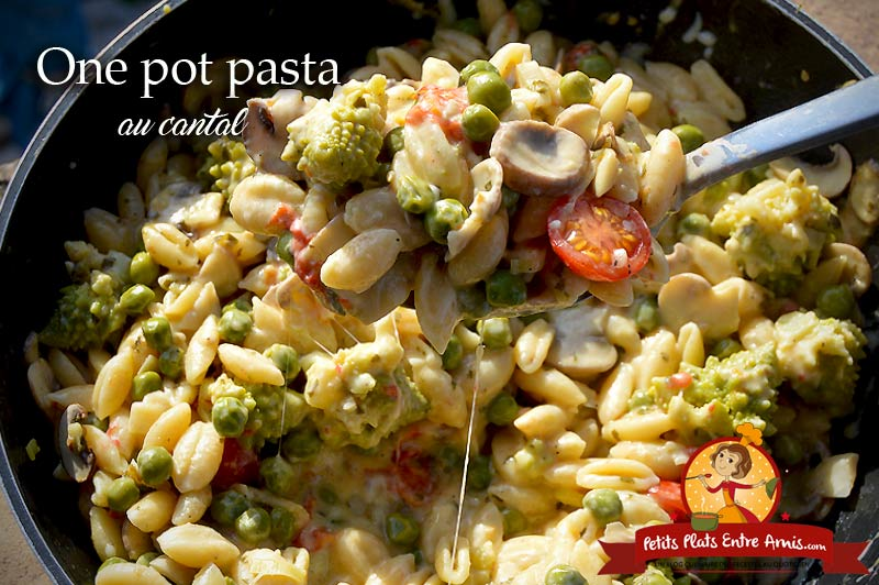 One pot pasta au cantal