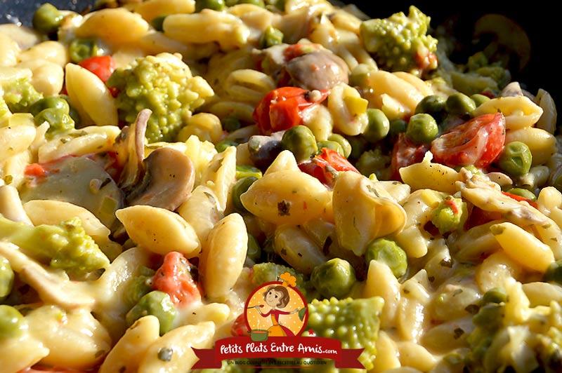 Recette one pot pasta au cantal