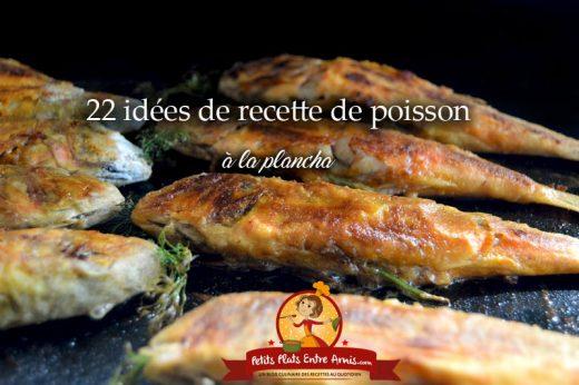 22 idées de recettes de poisson à la plancha