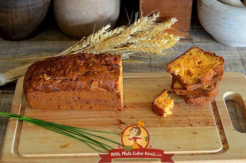 Cake au cantal et jambon fumé la recette