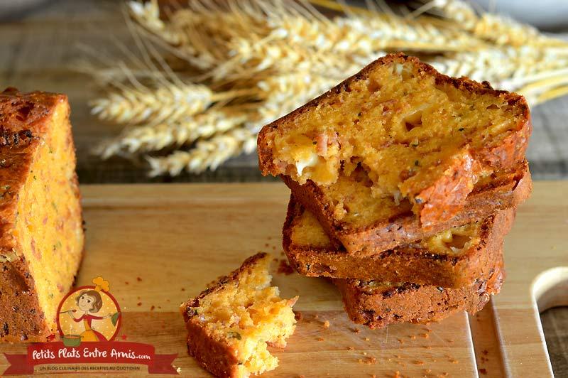 Idée de cake salé au fromage