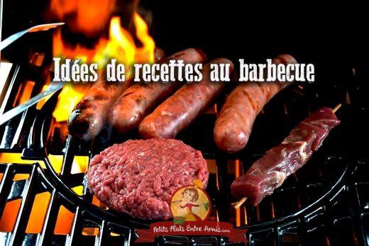 Idées de recettes au barbecue