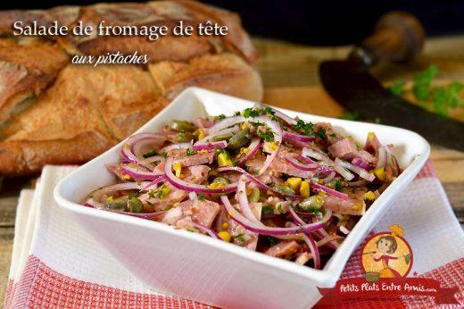 Salade de fromage de tête aux pistaches