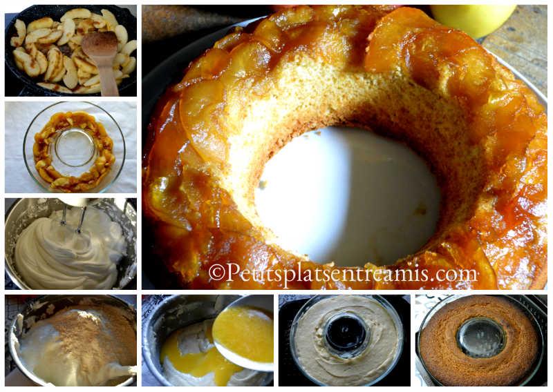Cuisson gâteau aux blancs d'oeufs