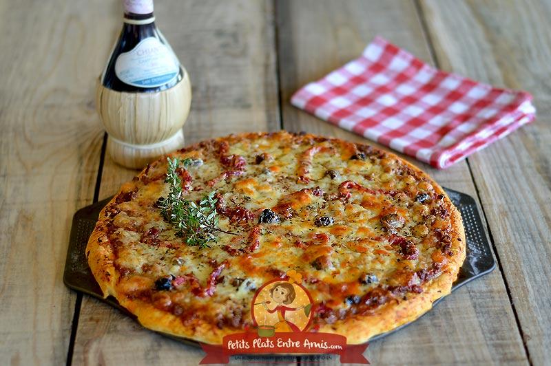 Pizza bolognaise la recette