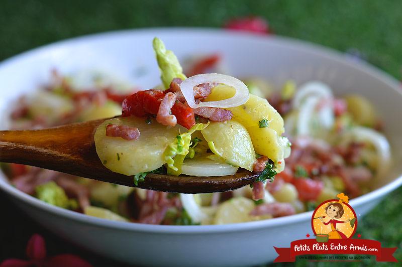 Idée de salade avec pommes de terre