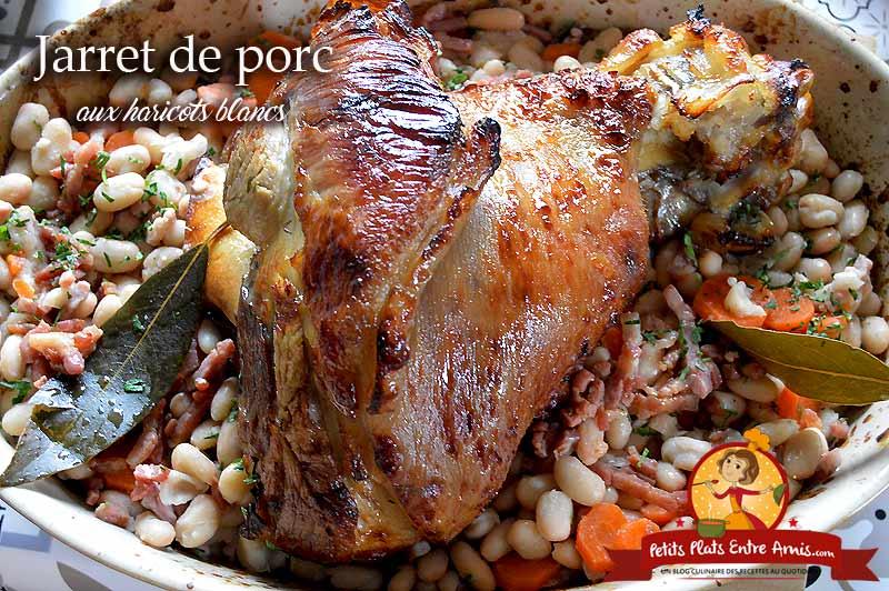 Jarret de porc aux haricots blancs