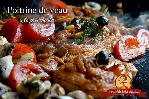 Poitrine de veau à la provençale