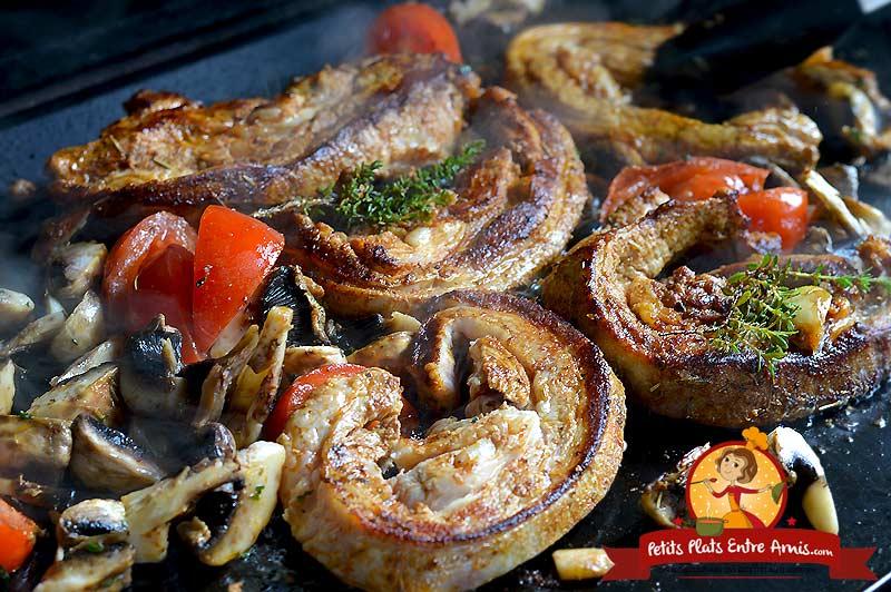 Poitrine de veau à la provençale la recette