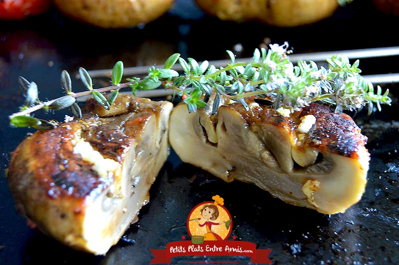 Quelle cuisson pour les brochettes de champignons