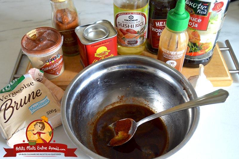 Recette de marinade épicée pour poulet