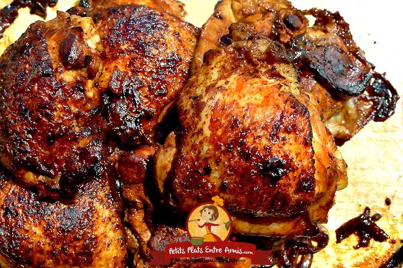 Recette hauts de cuisses de poulet à la plancha