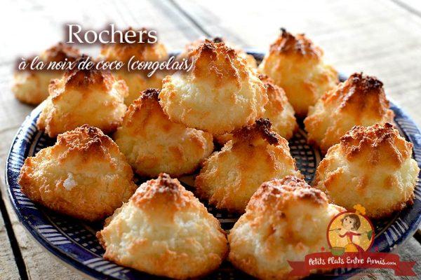 Rochers à la noix de coco - congolais