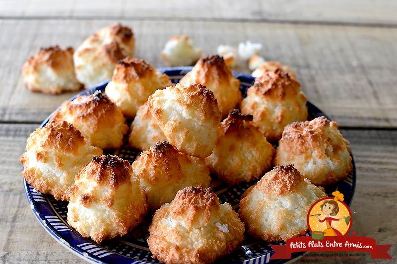 Rochers à la noix de coco - congolais la recette