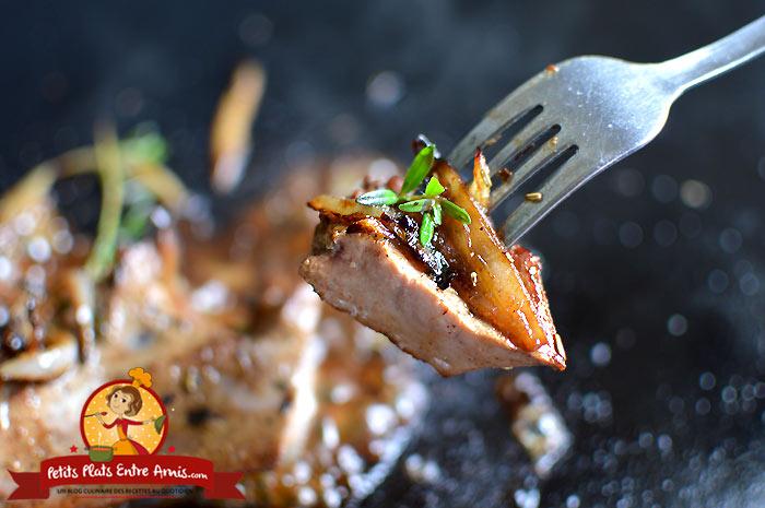 Quelle cuisson pour le foie de veau à la plancha?
