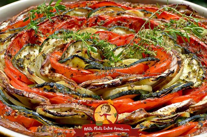 Recette du tian provençal