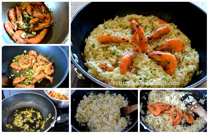 Comment faire du riz frit?