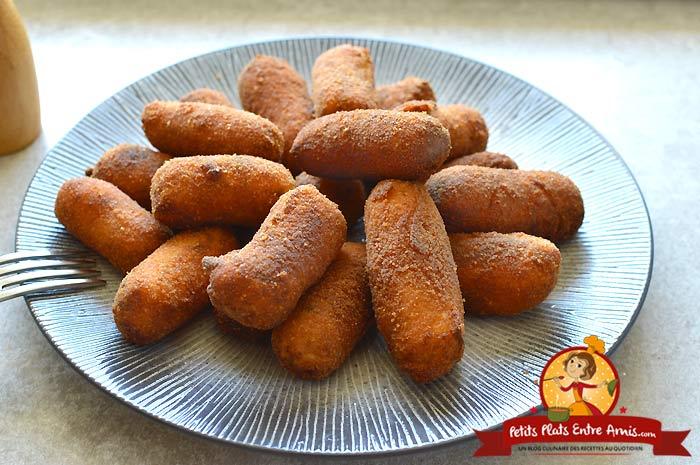 Croquettes de pommes de terre la recette