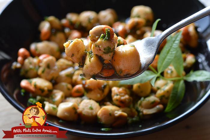 Quelle cuisson pour les noix de pétoncles?