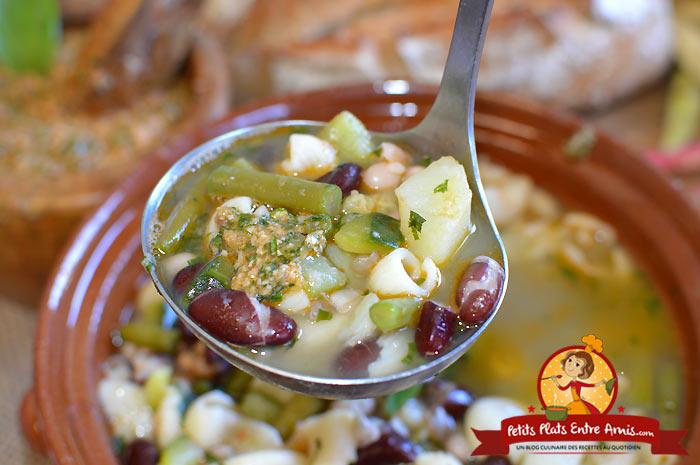 Quels ingrédients pour la soupe au pistou?
