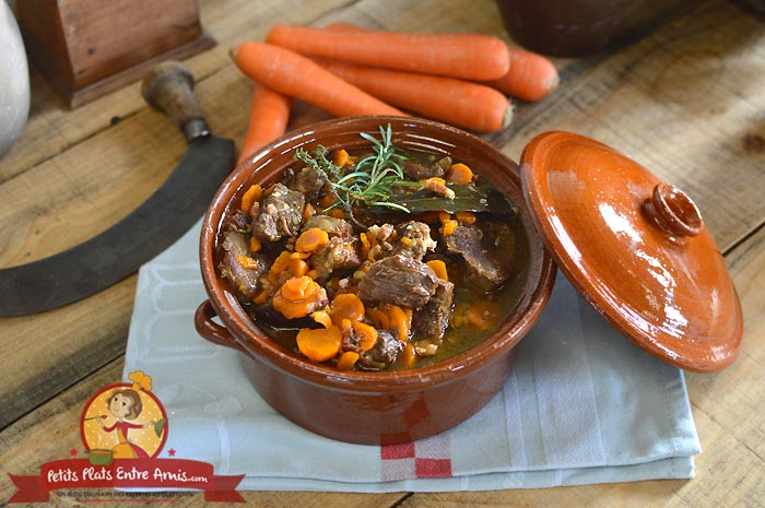 Boeuf carottes la recette