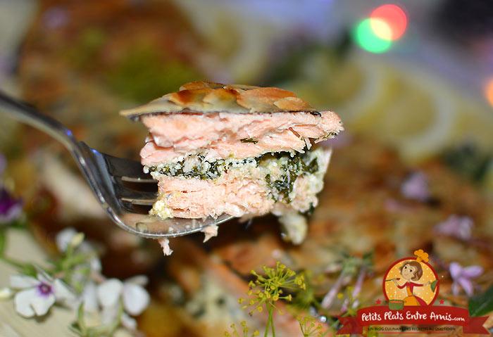 Quelle cuisson pour un saumon entier au four?