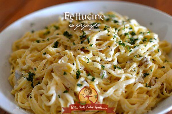 Fettuccine au gorgonzola