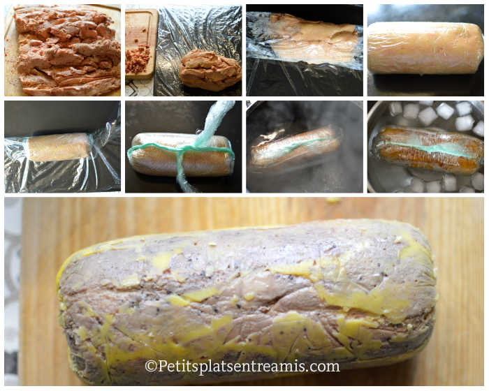 Cuisson foie gras poché