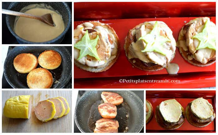 Cuisson tournedos de canard au foie gras