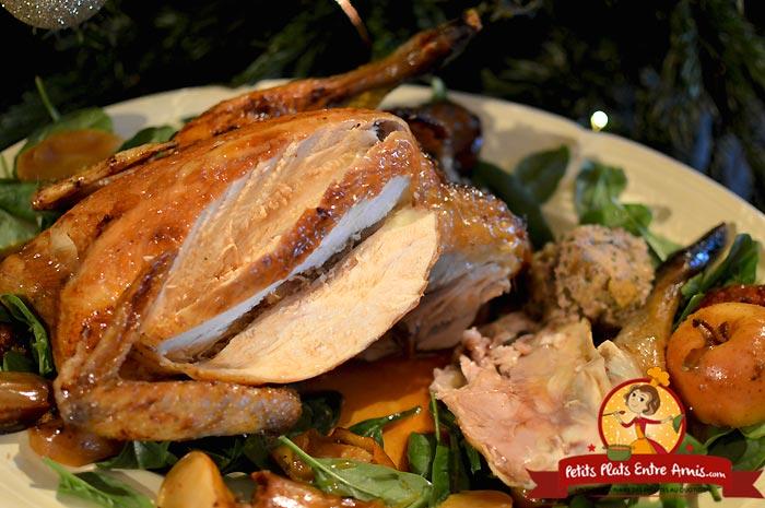 Quelle cuisson pour un poulet de Bresse farci