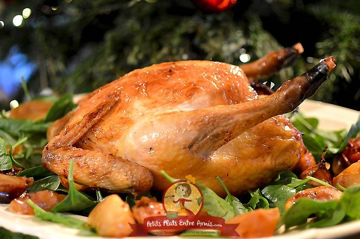 Recette de poulet de Bresse farci