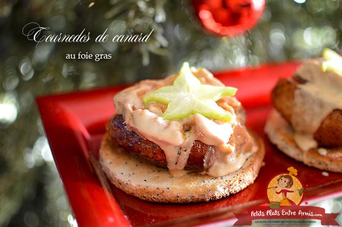 Tournedos de canard au foie gras