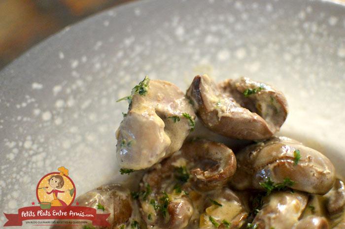 Quelle cuisson pour les rognons d'agneau au Sauternes?