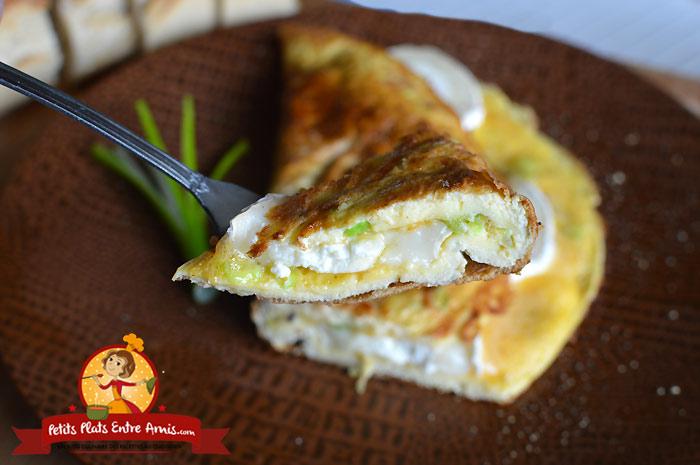 Quelle cuisson pour une omelette au fromage