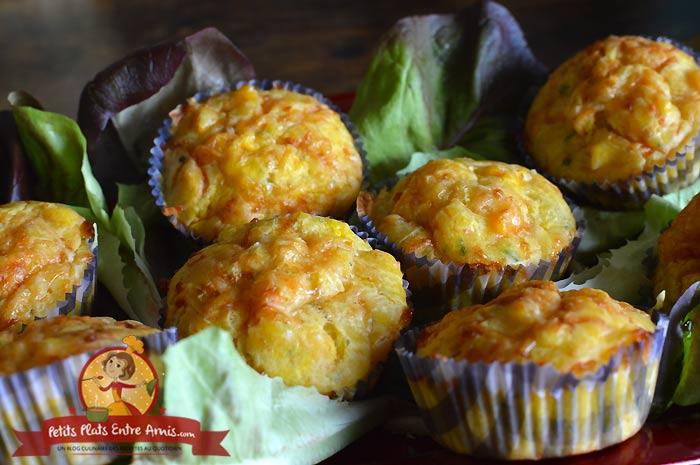 Recette de muffins au butternut et fromage