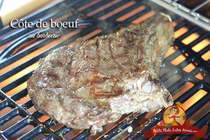 Côte de boeuf au barbecue
