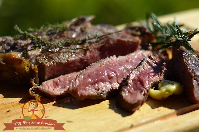 Quelle cuisson pour une côte de boeuf au barbecue?