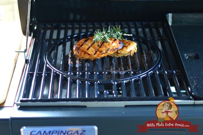 Blanc de poulet au barbecue la recette