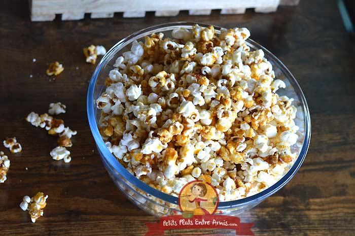 Popcorn caramélisé la recette