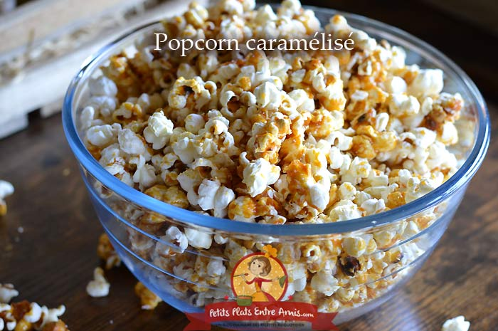 Popcorn caramélisé