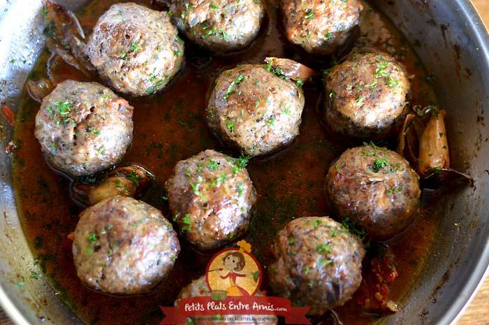 Recette boulettes d'agneau de Pâques