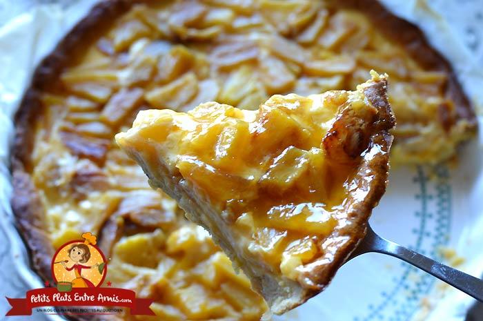 Ingrédients pour tarte à l'ananas