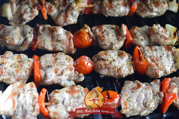 Brochette d'araignée de porc la recette