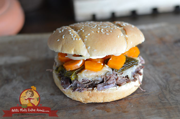 Recette burger de pot-au-feu