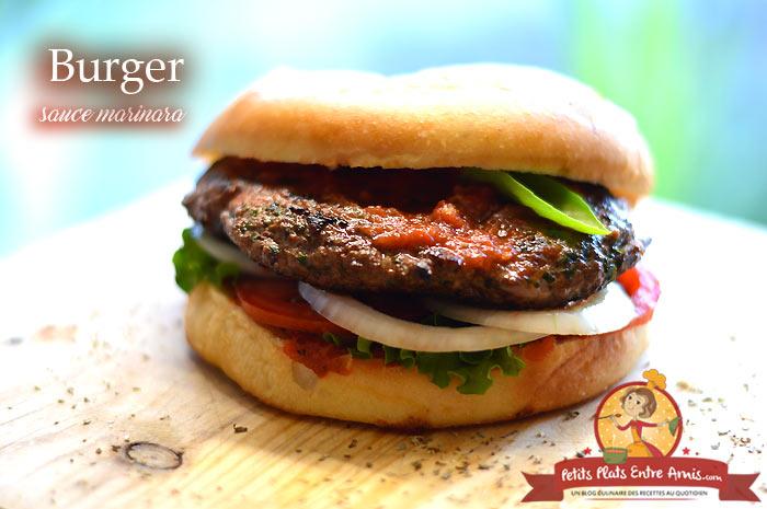 Burger sauce marinara